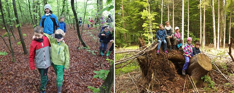 Feroenprogramm Pfingstferien Burg Schwaneck Wildnisschule to go