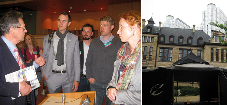 Delegationsreise Bayerischer Jugendring Brüssel